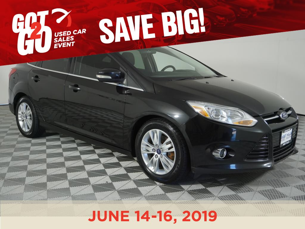 2012 Ford Focus Sel >> Pre Owned 2012 Ford Focus Sel Fwd 4dr Sdn