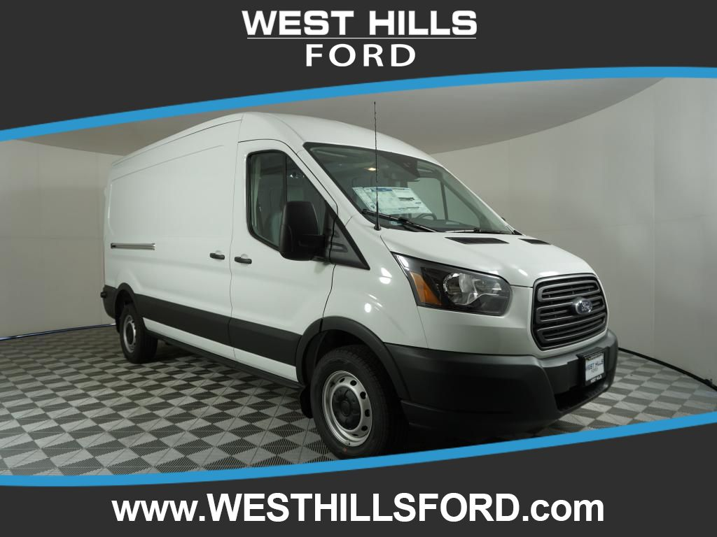 New 2019 Ford Transit Van T-250 Med Roof Slide Base