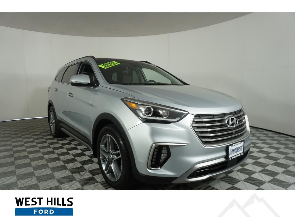 Pre Owned 2017 Hyundai Santa Fe Xl Limited Ultimate 4 Door Wagon In Bremerton Hy1690a West Hills Ford